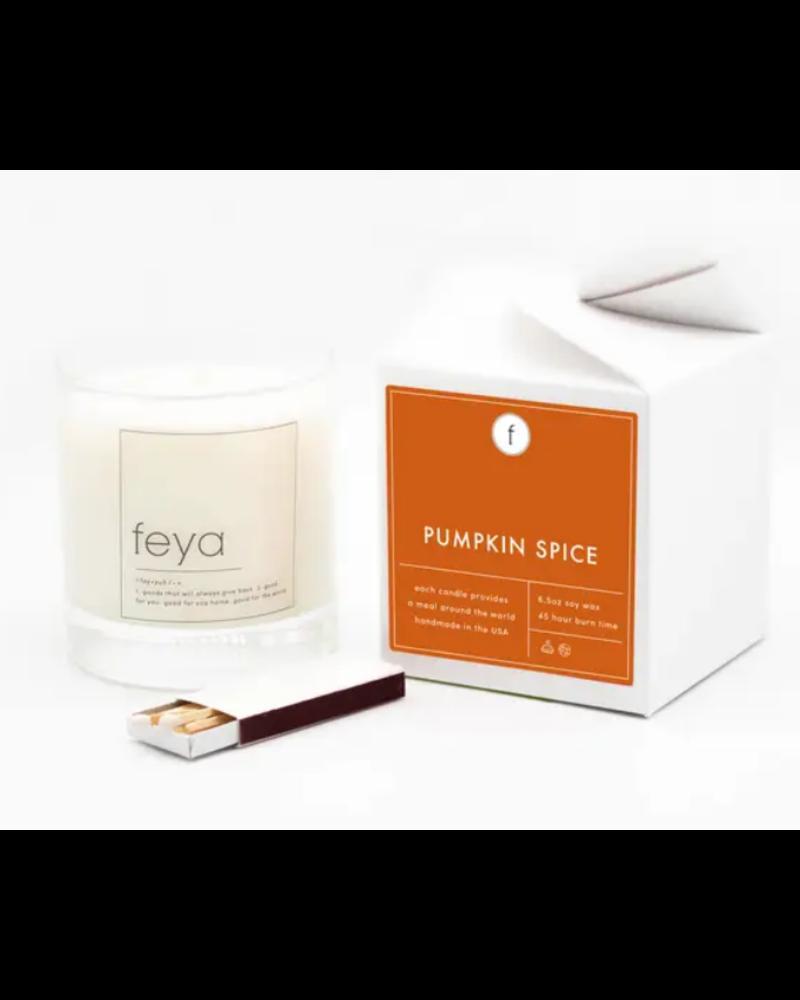 Freya Candle Co Pumpkin Spice Candle 6.5 OZ