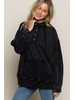POL Clothing Corduroy Pullover