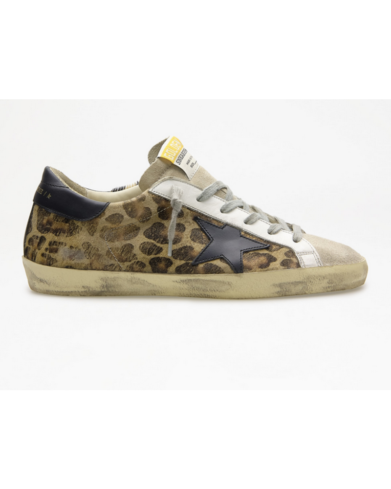 Golden Goose Super-Star Leopard Horsy