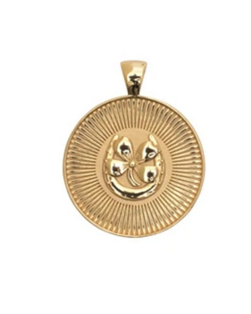 Jane Win Original JW Coin Necklace