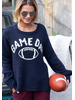 Wooden Ships Game Day Football Crew Sweater