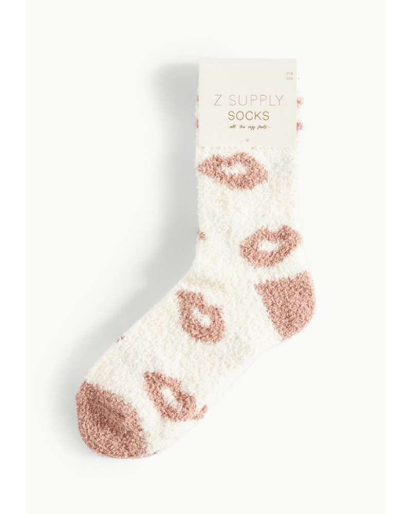 Z Supply Lip Plush Socks