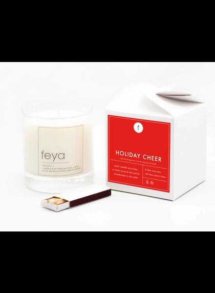 Feya Candle Co. Holiday Cheer Candle