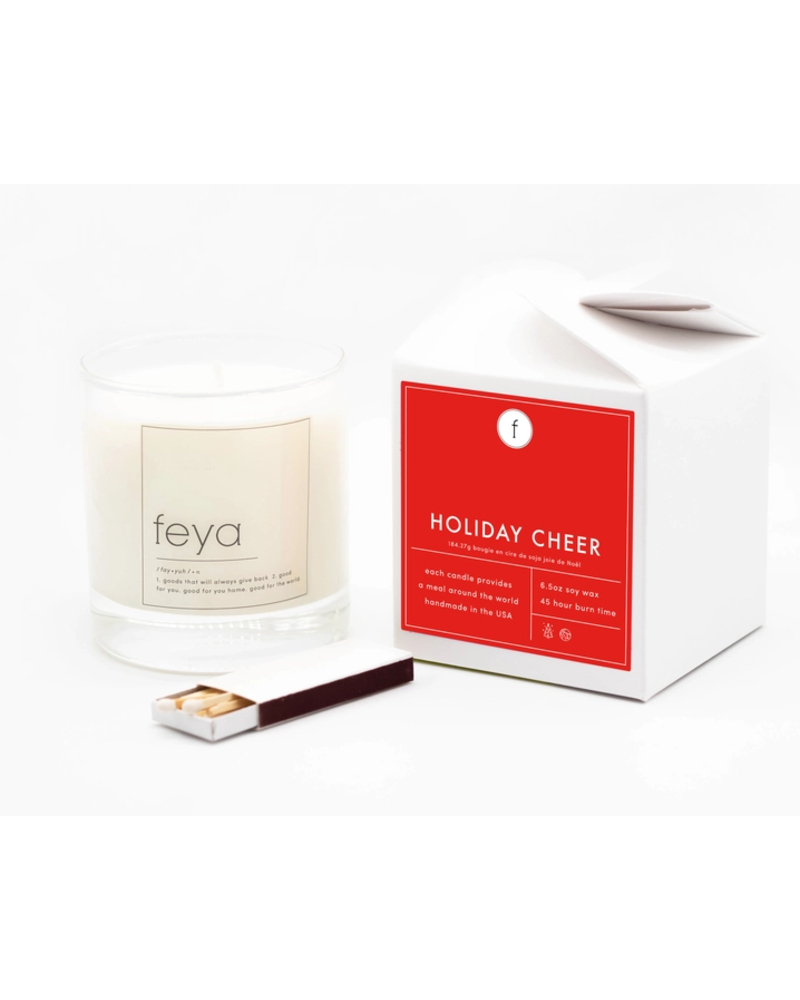 Feya Candle Co. Holiday Cheer Candle
