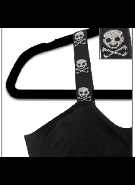 Strap-its Strap-its - Black/Skulls