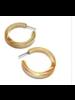 Leetie Lovendale PinUp Lucite Hoop Earrings
