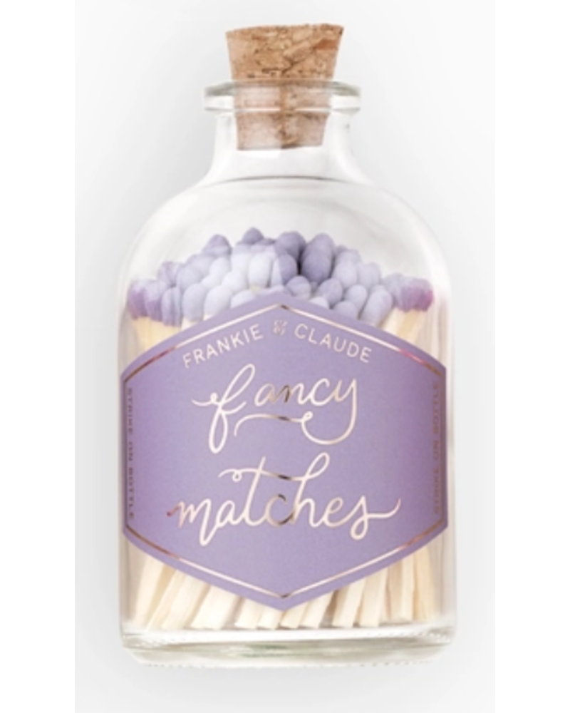 Frankie & Claude Fancy Matches - Small