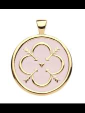 Jane Win Original JW Coin Necklace
