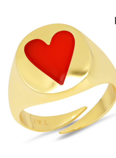 Tai Heart Ring