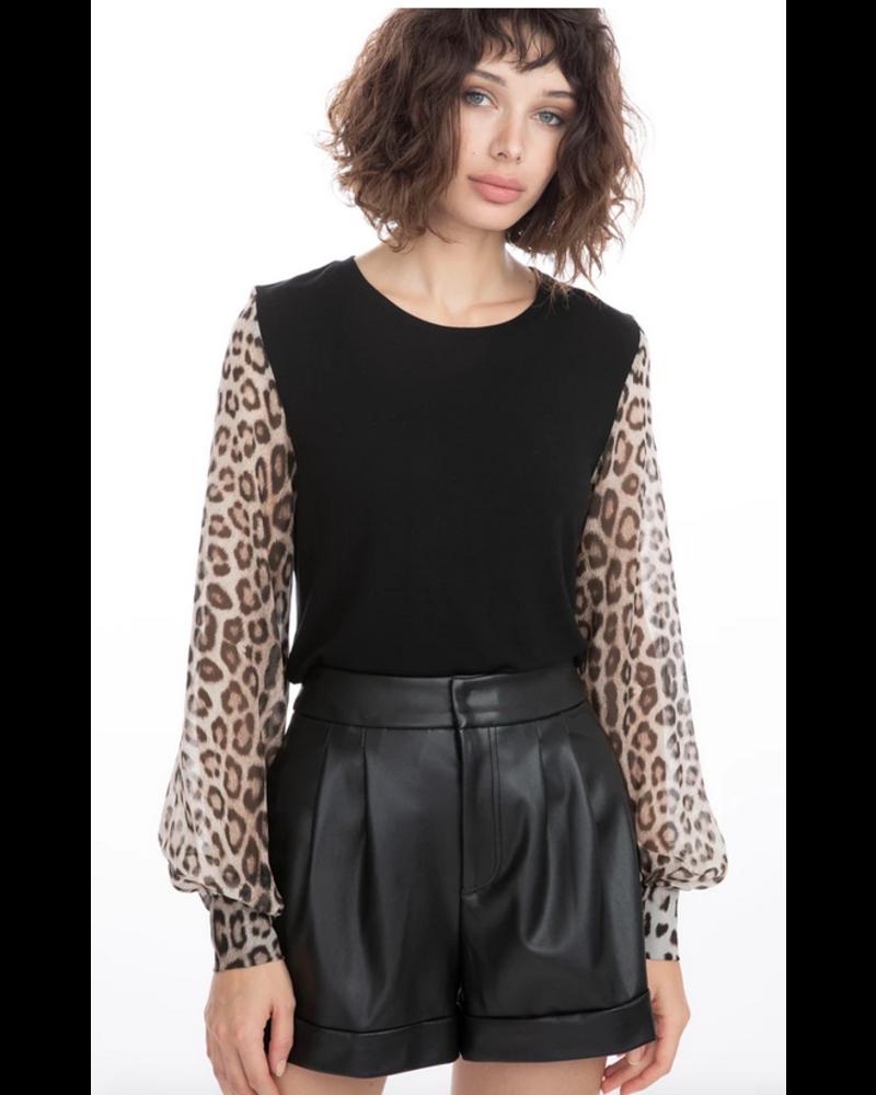 Generation Love Noelle Leopard Top