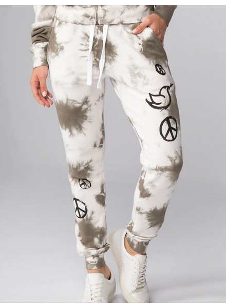 CHRLDR All-Over Peace Sweatpants