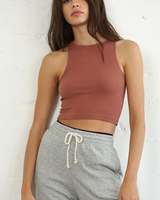 by-together Seamless Crew Neck Crop Top