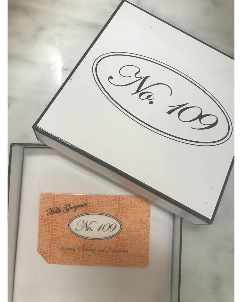 No. 109 Gift Card $25