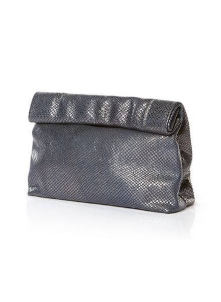 Marie Turnor Lunch Clutch Navy Sparkle