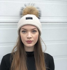 Cashmere Hat (Medium Pom)