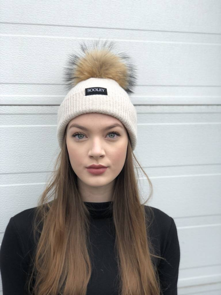Sooley Designs Cashmere Hat (Medium Pom)