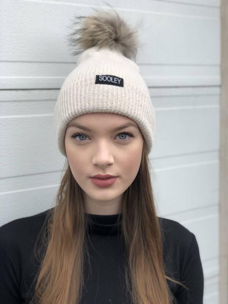 Sooley Designs Cashmere Hat (Small Pom)