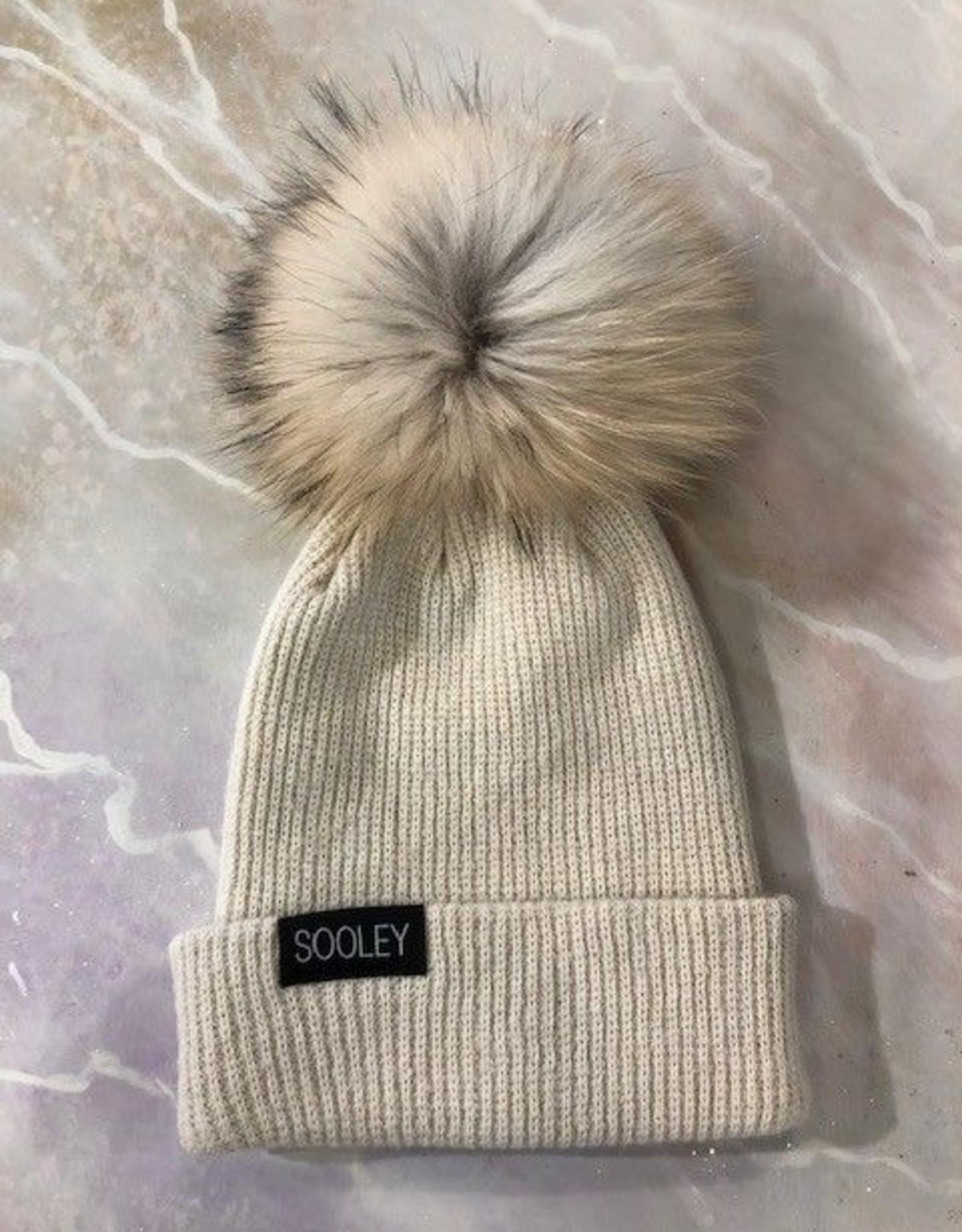 Cashmere Hat (Large Pom)