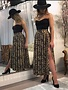 Sooley Designs Circle Skirt - Leopard
