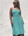 Sooley Designs Spaghetti Strap Circle Skirt Dress