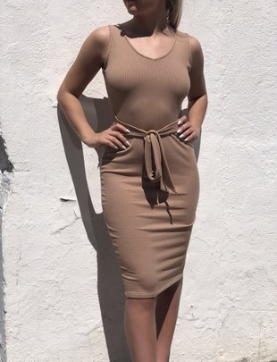Sooley Designs Taurus Dress - Ribbed Knit