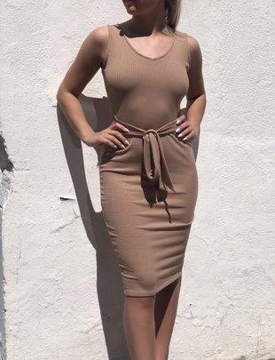 Taurus Dress - Ribbed Knit