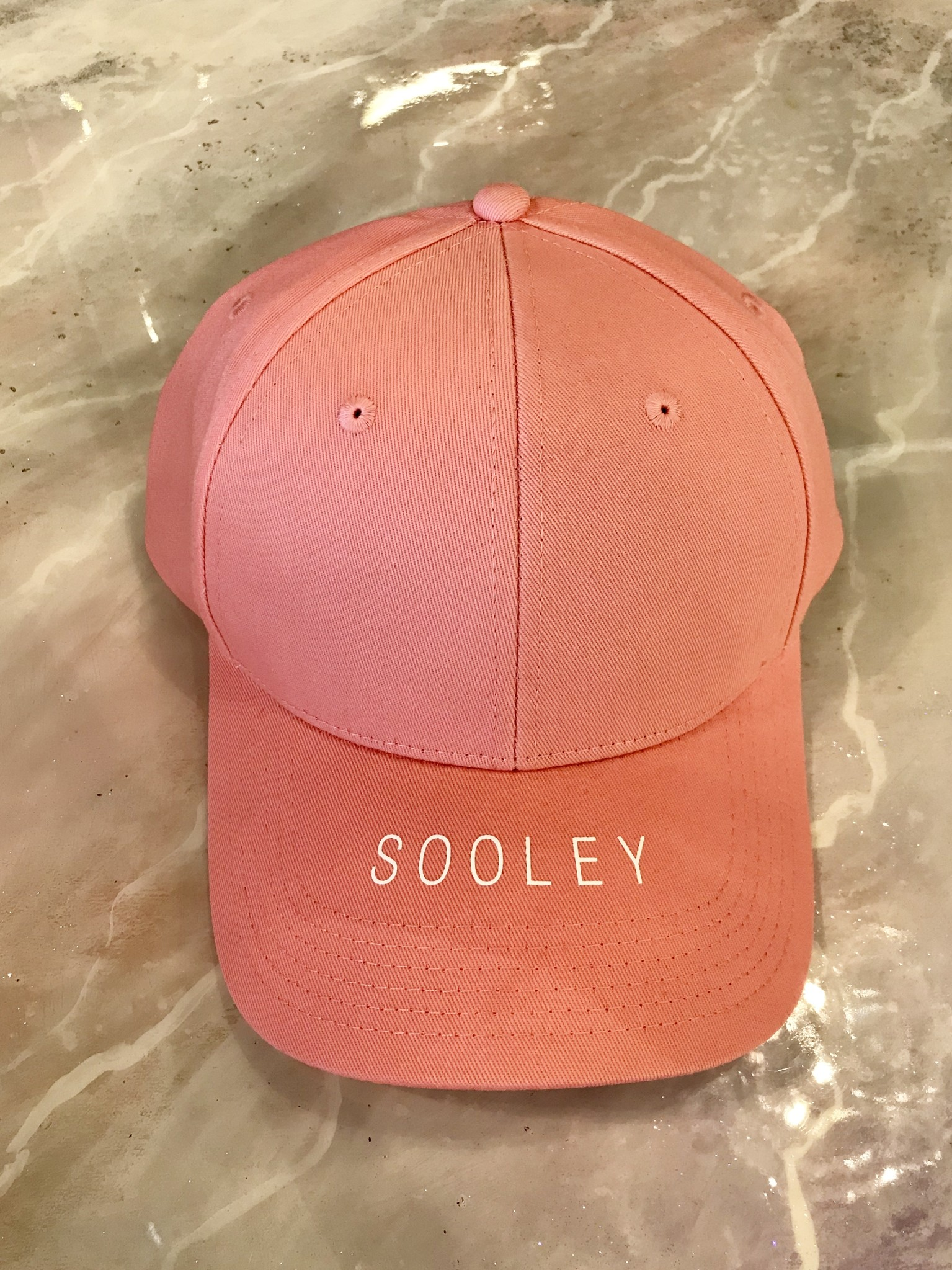 Sooley Designs Sooley Baseball Hat - Coral