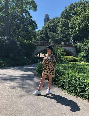 Sooley Designs Grace Dress - Colourful Leopard
