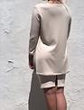 Sooley Designs Valencia Top Round Neck - Ribbed Knit