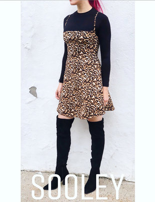 Sooley Designs Naomi Dress - Leopard