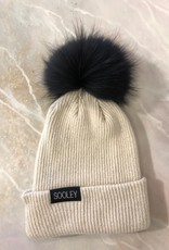 Cashmere Hat (Small Pom)