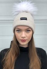 Cashmere Hat (Jumbo Pom)