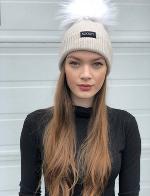 Sooley Designs Cashmere Hat (Jumbo Pom)