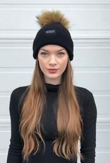 Cashmere Hat (Medium Pom)