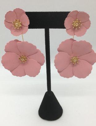 Sooley Designs Drop Back Jasmine Flower Earrings