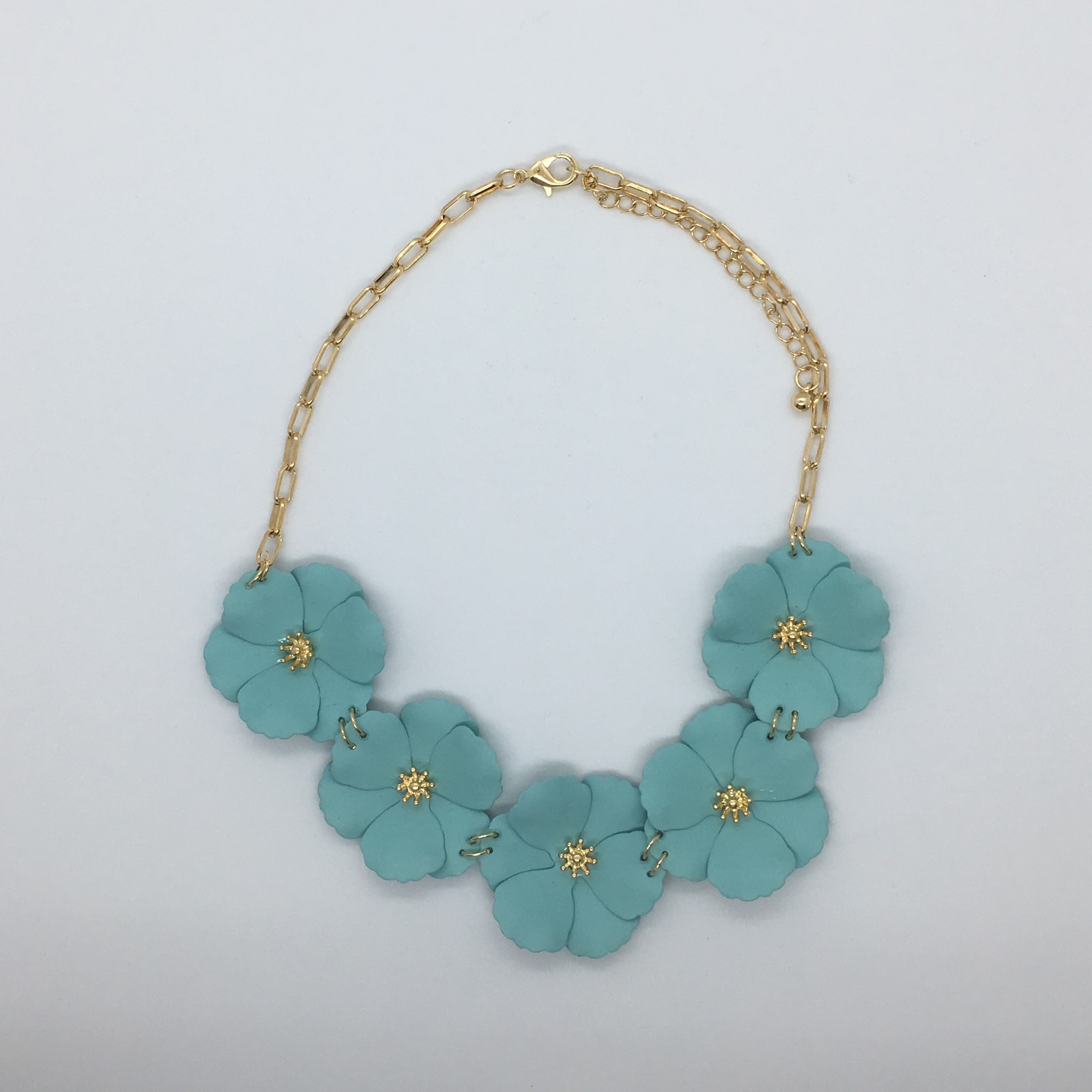 Sooley Designs Jasmine Flower Necklace