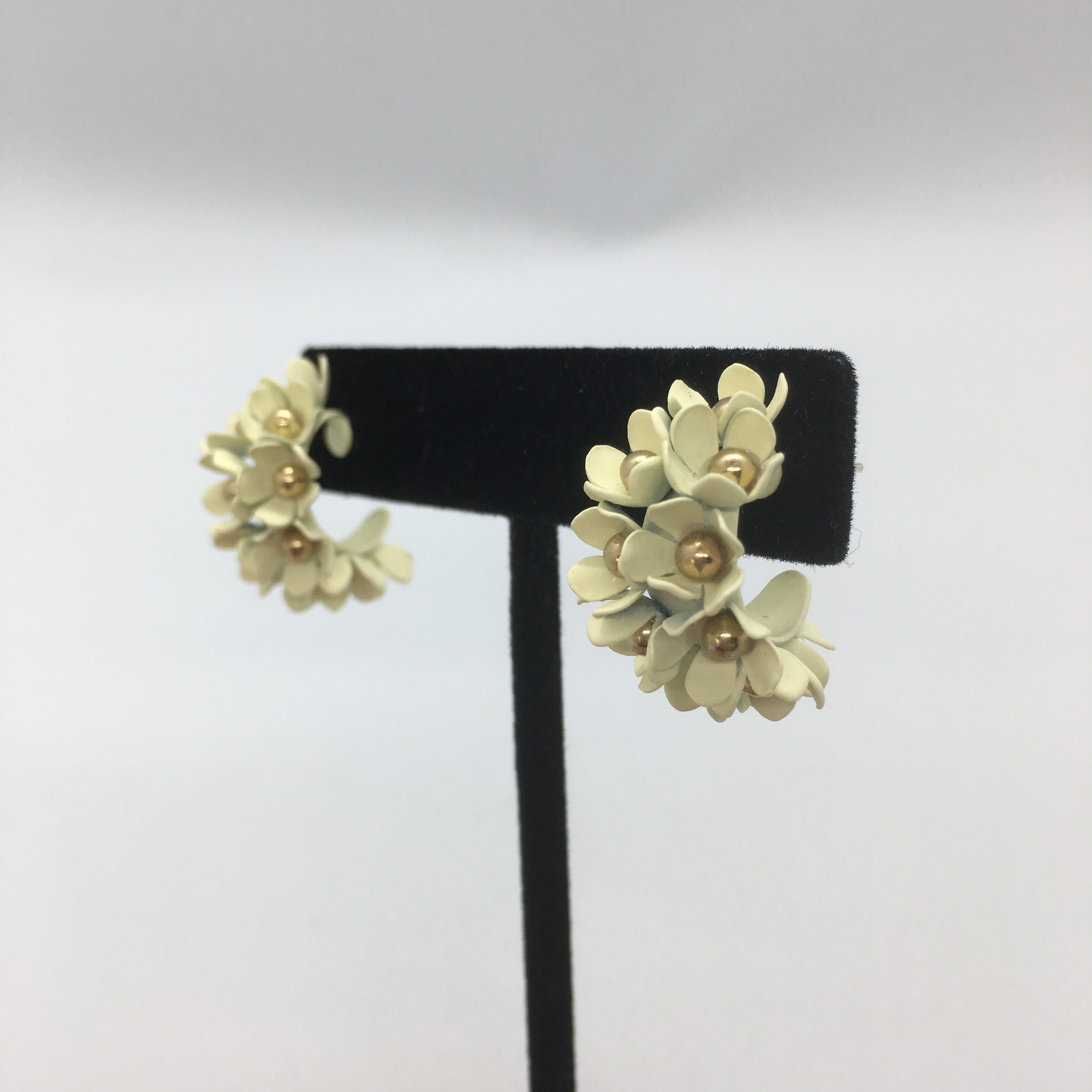 Sooley Designs Floral Cluster Hoops