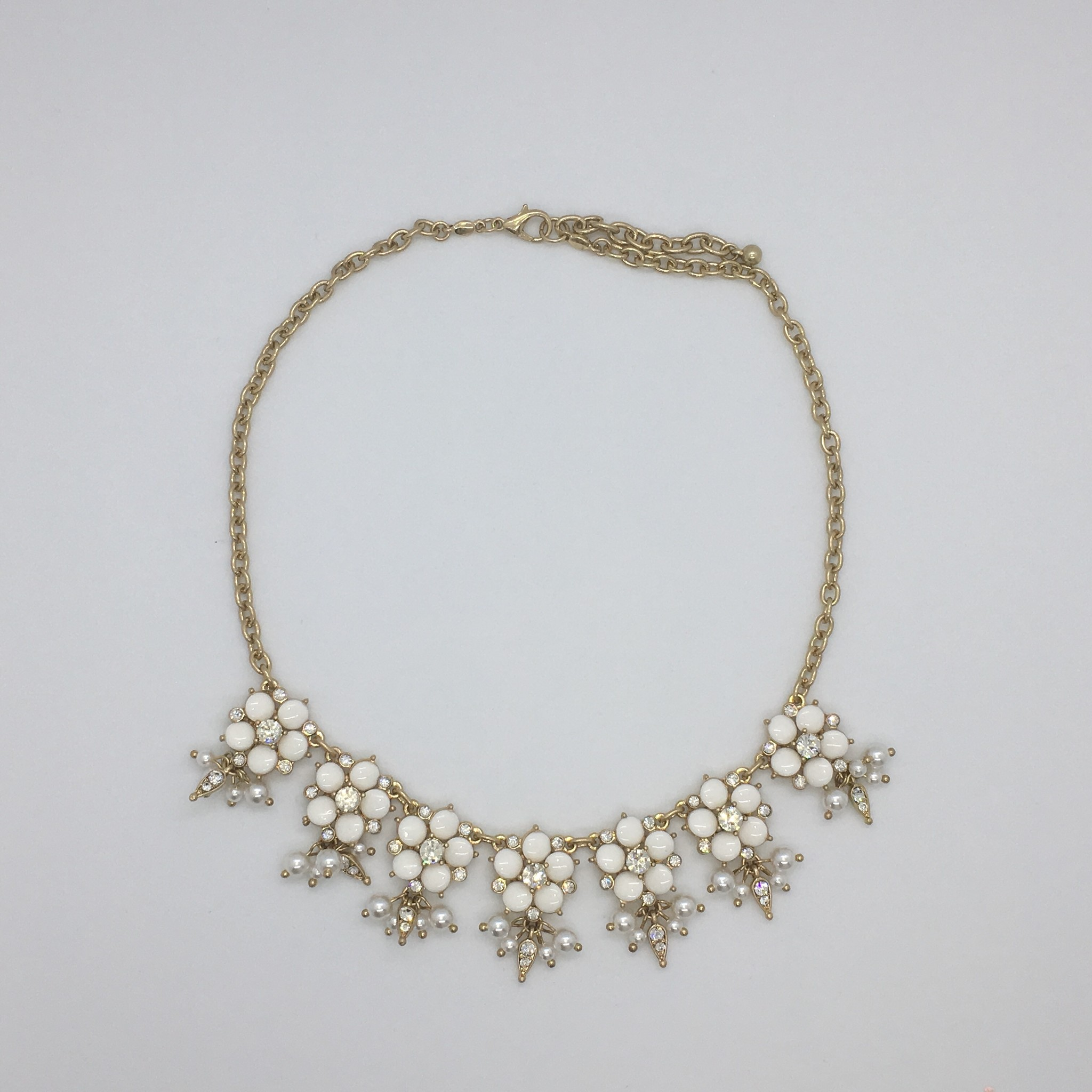 Sooley Designs Jewelled Floral Necklace