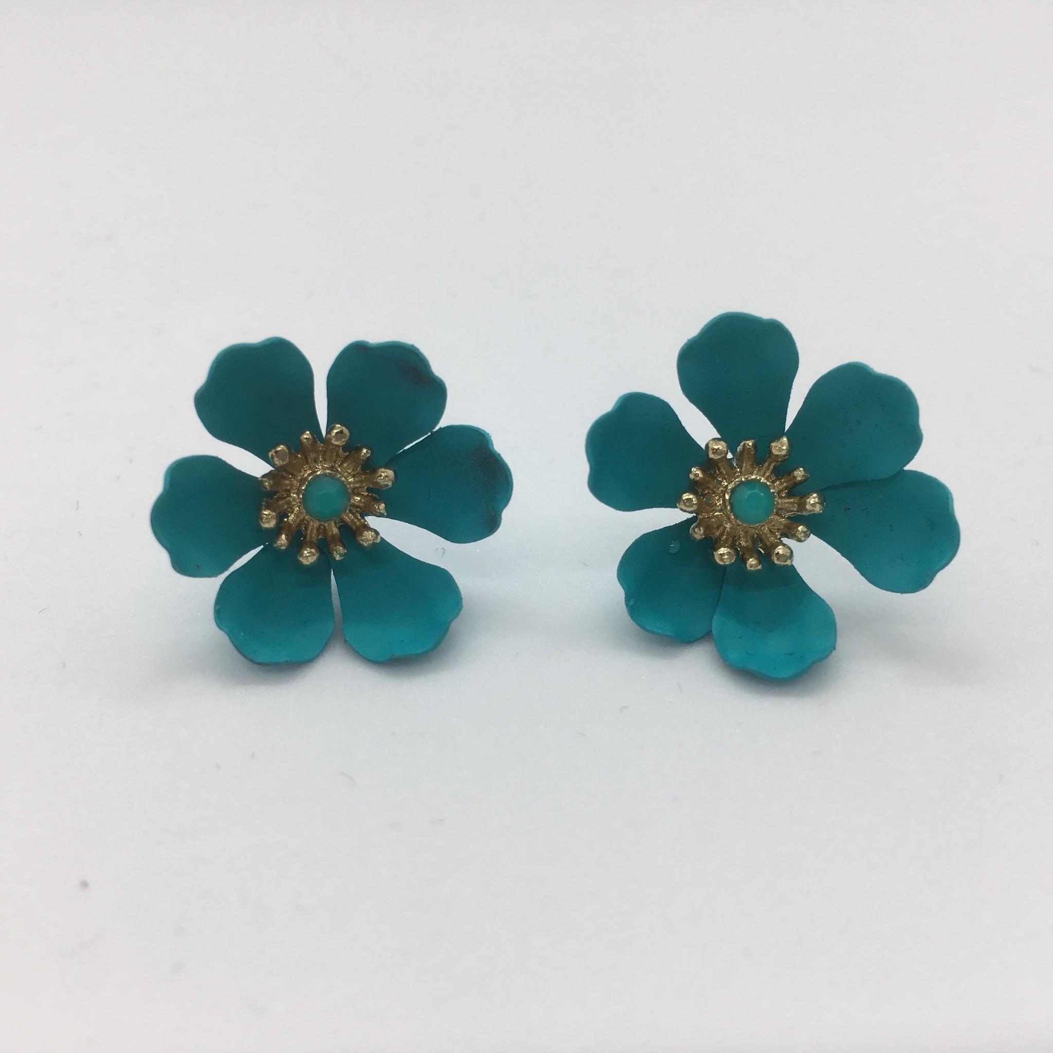 Sooley Designs Cosmos Flower Earrings