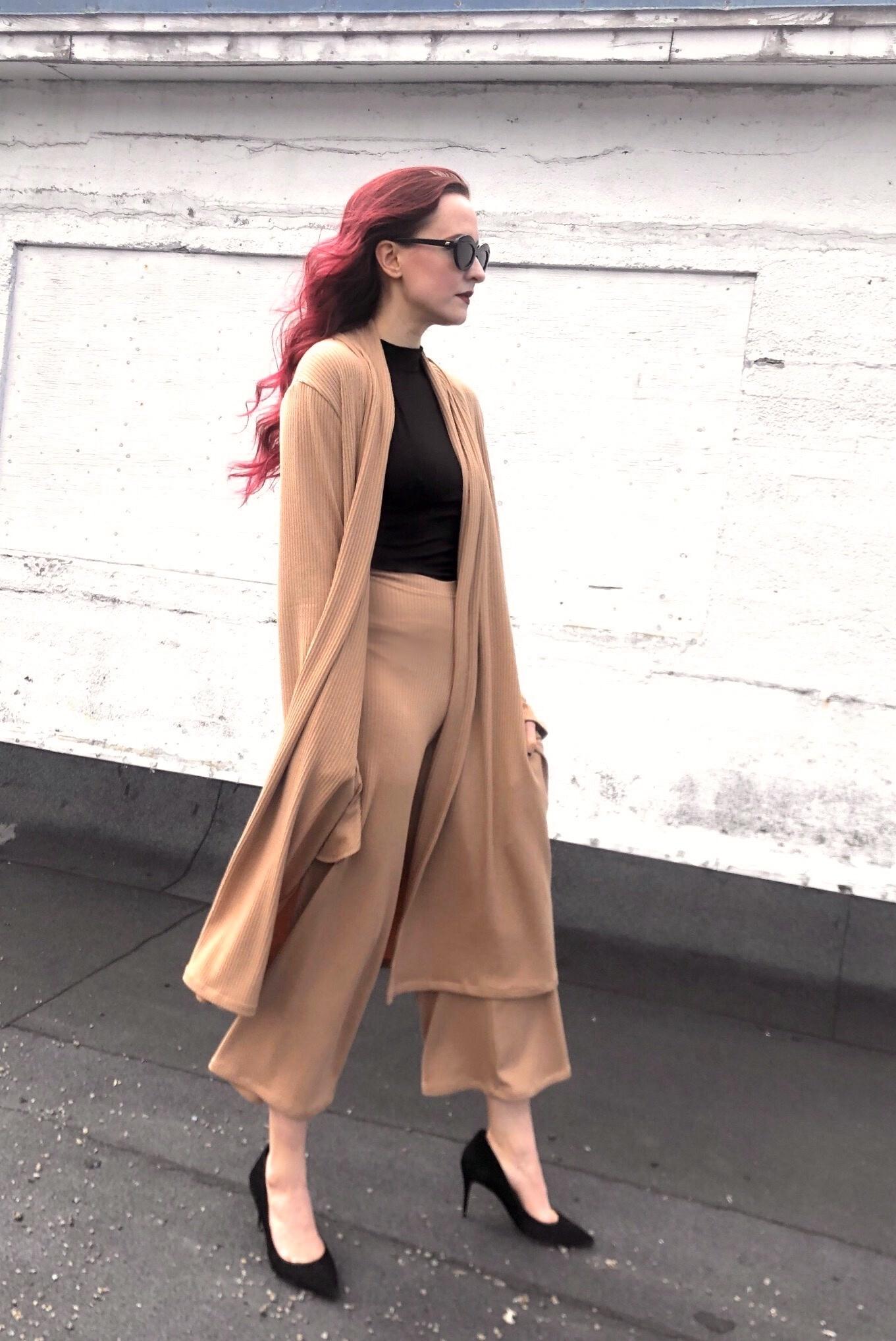 Sooley Designs Kate Pants - Ribbed Knit