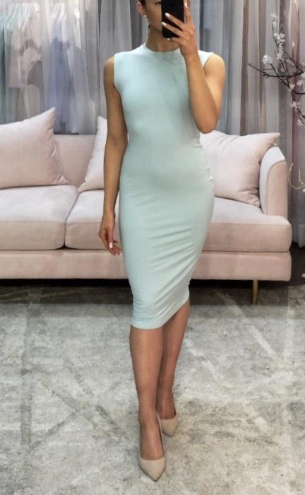 Sooley Designs Sleeveless Pencil Dress - Bamboo