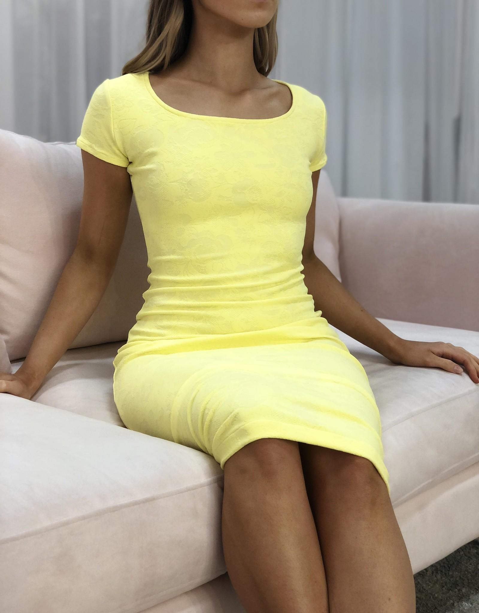 Short Sleeve Pencil Dress - Brazil