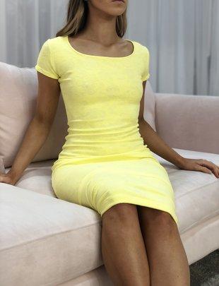 Sooley Designs Short Sleeve Pencil Dress - Brazil