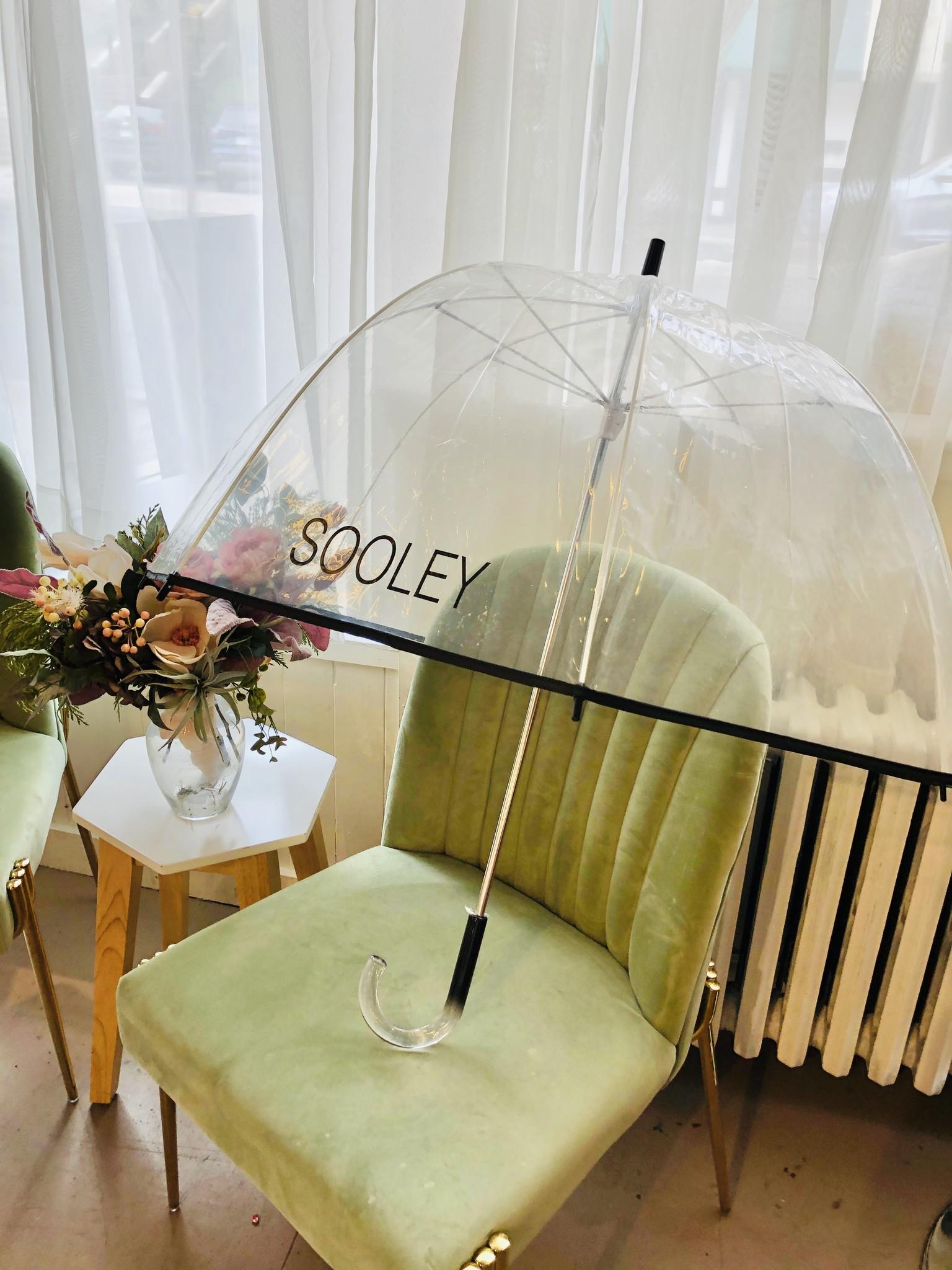 Sooley Designs Umbrella - Clear/Black