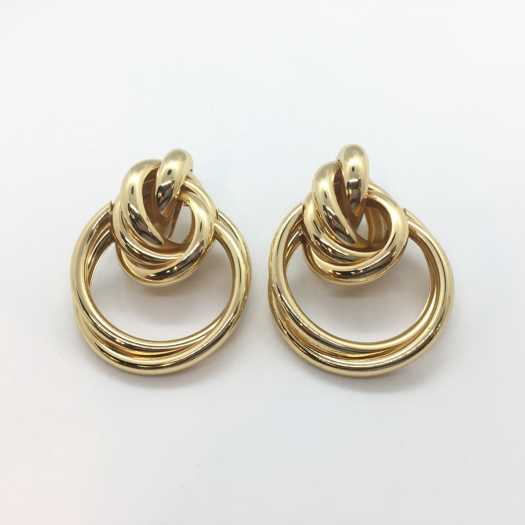 Sooley Designs Gold Loop Earrings
