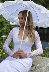 Umbrella - White/Pink