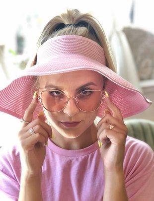 Sooley Designs Pink Sun Hat
