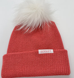 Merino Wool Toque with Small Pom Pom
