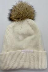 Merino Wool Toque with Small Pom Pom