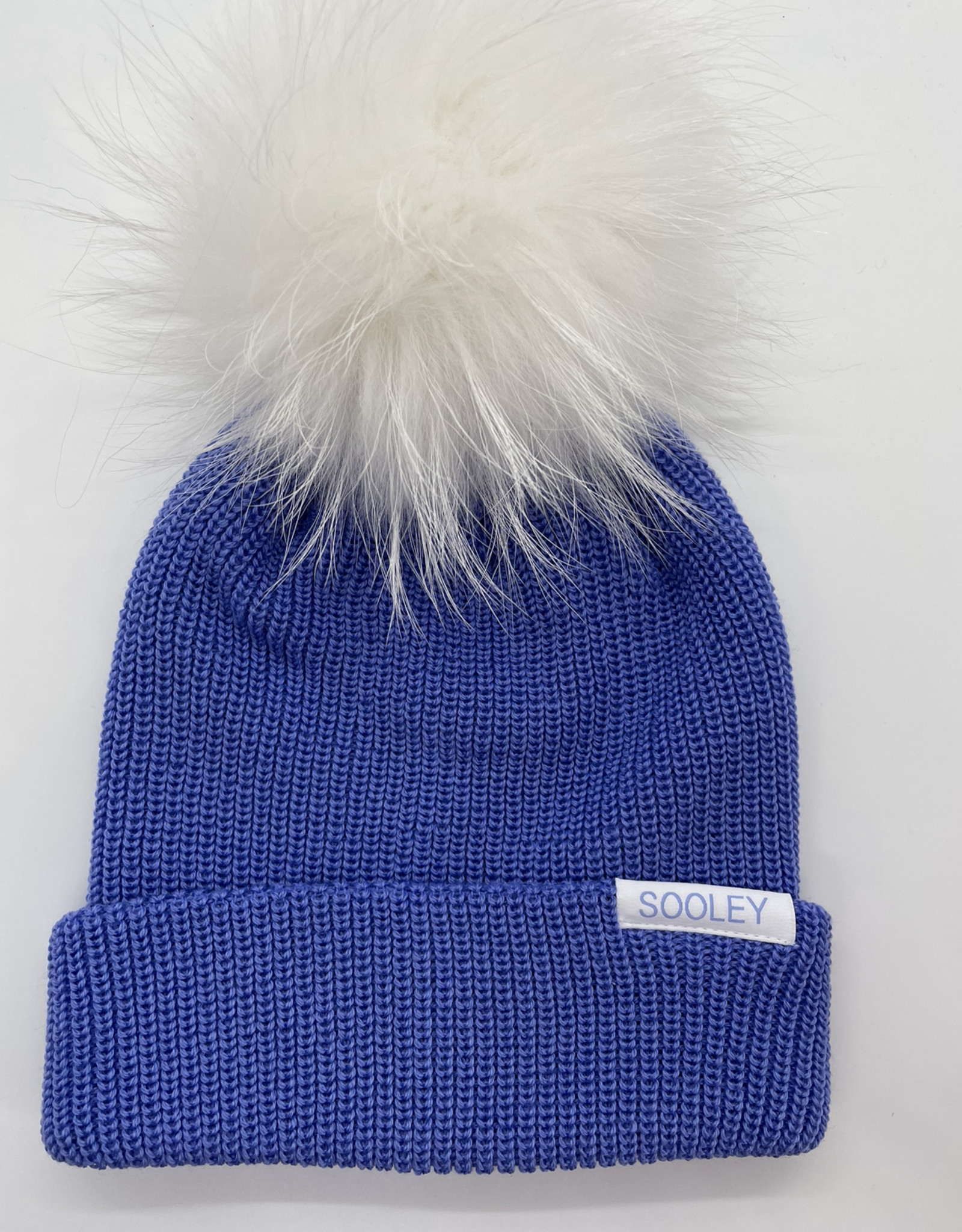 Merino Wool  Toque with Large Pom Pom